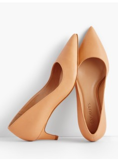 Eri Kitten-Heel Pumps