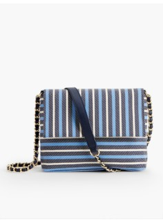 Awing-Stripes Clutch
