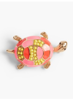 Colorful Turtle Pin