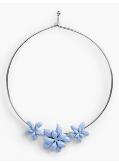 Pretty Posy Collar Necklace
