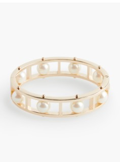 Pearl Ladder Bangle