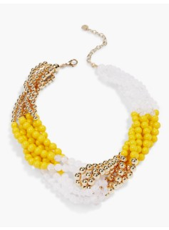 Knotted-Bead Necklace