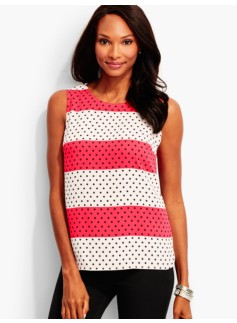 Dots & Stripes Shell