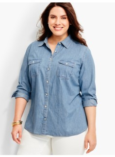 The Classic Casual Shirt-Classic Denim/Lakeside Wash