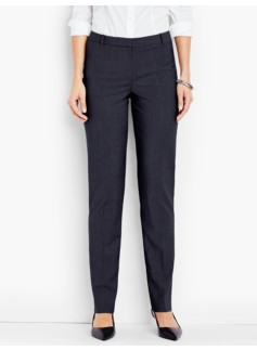 Seasonless Wool Tailored Straight-Leg Pant