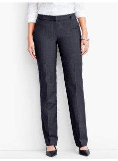 Seasonless Wool Tailored Trousers-Curvy