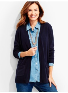 Flyaway Cardigan-Intarsia-Anchor Back