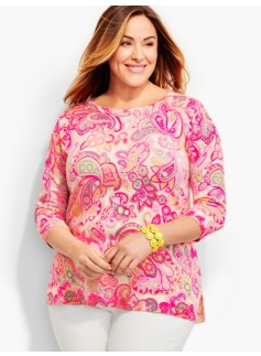 Soiree Paisley Sweater