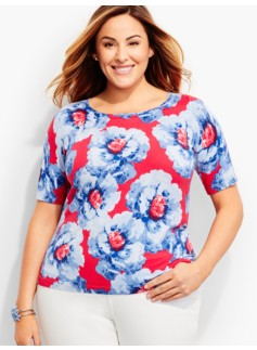 The Perfect Sweater Topper-Floral